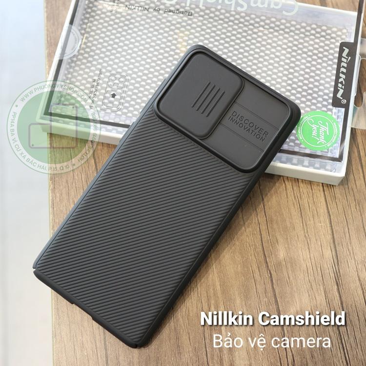 Ốp lưng Galaxy S20 FE - Nillkin Camshield (ốp dẻo bảo vệ camera)