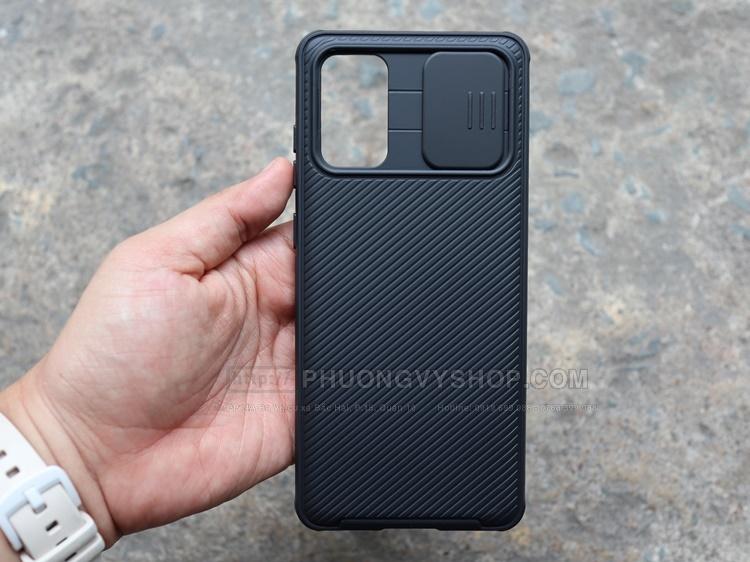 Ốp lưng Galaxy S20 Plus - Nillkin Camshield (ốp dẻo bảo vệ camera)