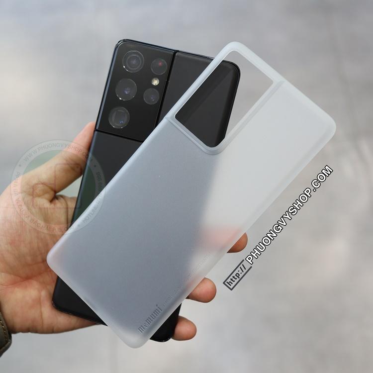 Ốp lưng Galaxy S21 Ultra - Memumi siêu mỏng 0.3mm