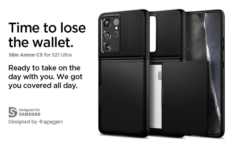 Ốp dẻo Spigen Slim Armor CS Galaxy S21 Ultra