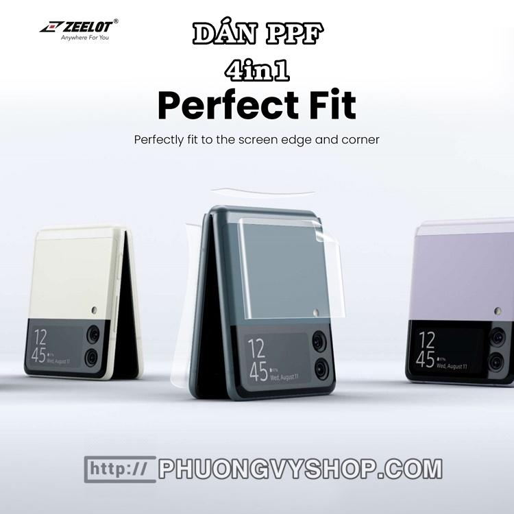Dán dẻo PPF Zeelot 4in1 Galaxy Z Flip3
