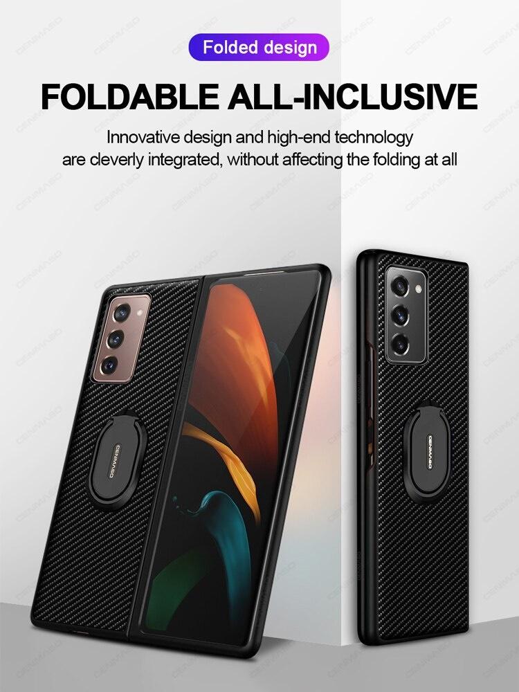 Case PC IRING VÂN CARBON Galaxy Z Fold2
