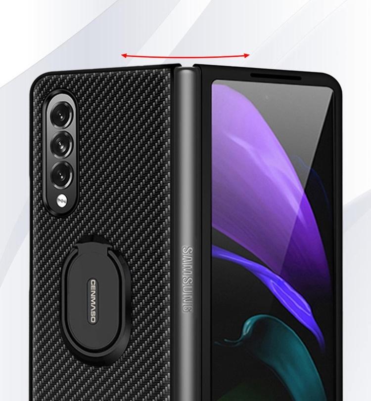 Case PC IRING VÂN CARBON Galaxy Z Fold3 5G