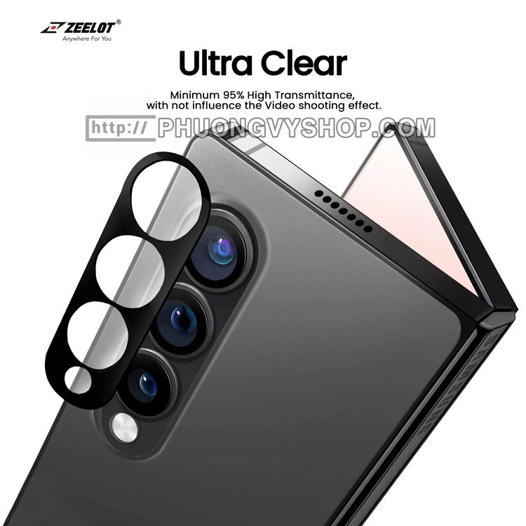 Dán camera Galaxy Z Fold3 - hiệu ZEELOT (cường lực)